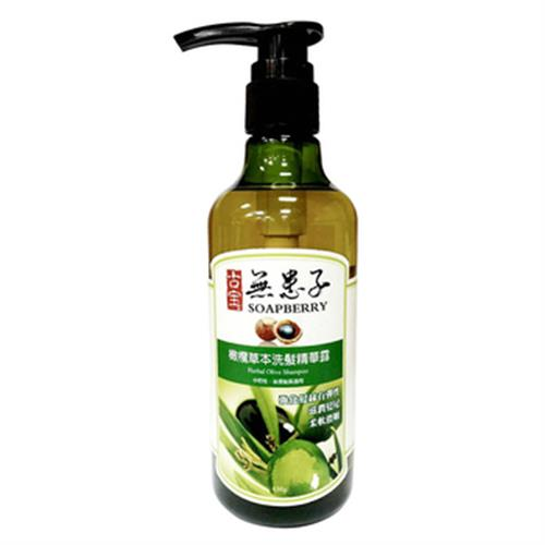 古寶 無患子橄欖草本洗髮精華露(450g/瓶)