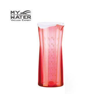 MY WATER 泡茶趣花茶壺/ 600ml(玫瑰紅)
