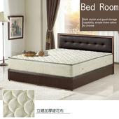 《AGNES 艾格妮絲》日式柔情飯店式蜂巢獨立筒床墊-雙人(5尺)