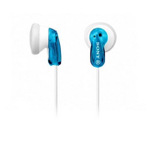《SONY》繽紛多彩立體聲耳機(MDR-E9LP/藍)
