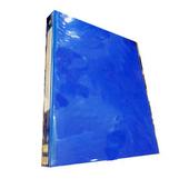 FP A4三孔PP D型夾 藍