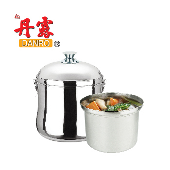 丹露 高效能免火再煮鍋-304不銹鋼7L(D304-07A)