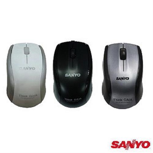 SANYO三洋 USB有線光學滑鼠(SYMS-M8)