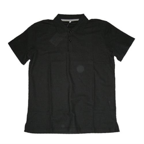 FP 男短袖素色POLO衫(F6101 黑-M)