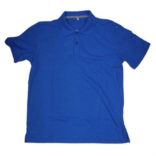 FP 男短袖素色POLO衫(F6101 寶藍-M)