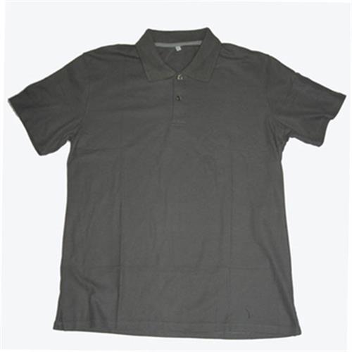FP 男短袖素色POLO衫(F6101 深灰-L)