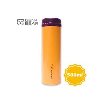 GENKI BEAR 經典超輕量保溫保冷杯/500ml(橘色)