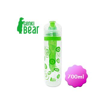 GENKI BEAR 純鮮Tritan活力瓶/700ml(奇異果)