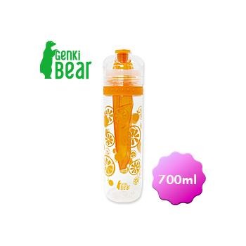 GENKI BEAR 純鮮Tritan活力瓶/700ml(柳橙)