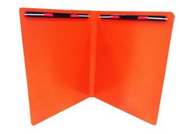 FP A4雙上彈簧夾(橘)