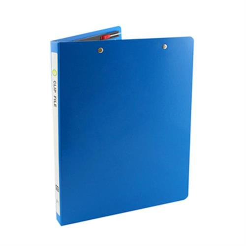 FP A4雙上彈簧夾(藍)