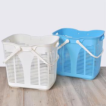 ★結帳現折★SONA PLUS 運動家洗衣收納籃(35L)(2入)
