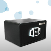 《LI SHYANG》金手指指紋保險箱F-LM20FX-TM-B(黑色小)