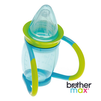 英國 Brother Max 4 階段喝水訓練杯 - 藍