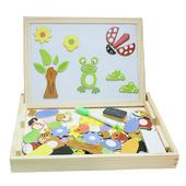 (彩虹森林) 兒童兩用磁性積木畫板(A)