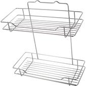 不鏽鋼方型雙層架