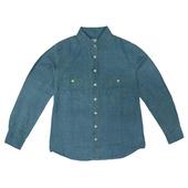 IN女牛仔襯衫(W14-19101淺藍#XL)