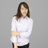 FP女長袖基本襯衫(紫#L)