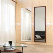 《BuyJM》實木框超大壁鏡-高180*寬60(白色)