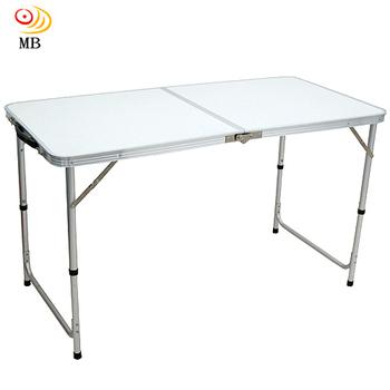 月陽 120cm手提鋁合金箱型便攜式行動折疊桌休閒桌(MB120)