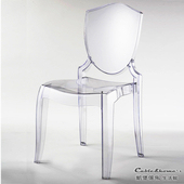 《凱堡》GhostChairs幽靈椅(透明)2入