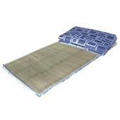 《MSM》輕巧型三摺床墊-單人3*6尺(布面隨機出貨)