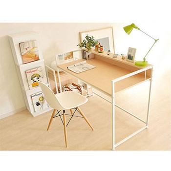 最愛傢俱 簡約時尚小書桌(白山毛櫸色)