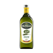 《Olitalia》【奧利塔】純橄欖油(1000ml*2罐/組)