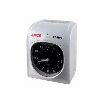 ANICE (送100張卡片)ANICE GT-3800 雙色(六欄位)電子打卡鐘(ANICE)