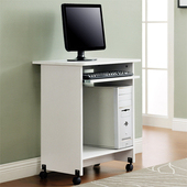 《佳嘉家》DIY愛德電腦桌/工作桌/書桌-三色選擇(白色)