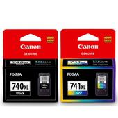 《CANON》PG-740XL+CL-741XL 原廠高容量墨水匣組合(1黑+1彩) $1990