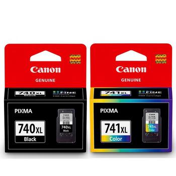 CANON PG-740XL+CL-741XL 原廠高容量墨水匣組合(1黑+1彩)