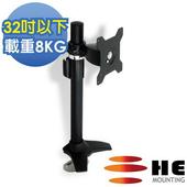 《HE》32吋以下LED/LCD鋁合金多功能插孔型支架(H011TI)