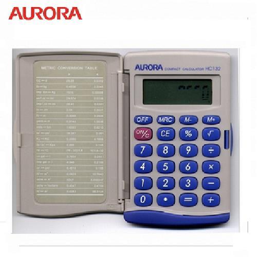 AURORA 8位數計算機HC132(國家考試專用)