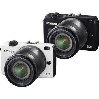 Canon EOS M2 18-55+22+90EX雙鏡閃燈組(公司貨)★送32G記憶卡+副電+UV鏡(52&43)+相機包+鏡頭蓋防掉繩(黑)