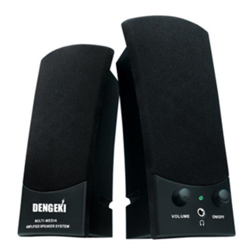 DENGEKI USB多媒體喇叭 SK-668BK
