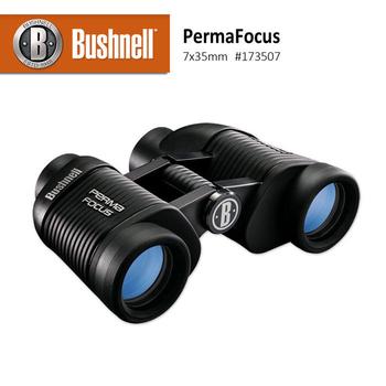 美國 Bushnell 倍視能 Perma Focus系列 7x35mm 免調焦型雙筒望遠鏡 #173507 (公司貨)