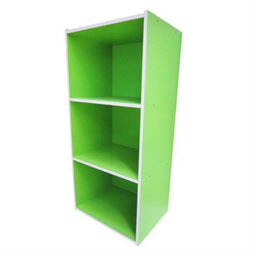 彩色三空櫃(果綠)