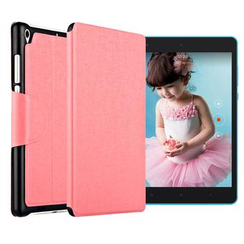 g-IDEA BANSKEY Xiaomi小米平板 側翻立式休眠皮套(粉色)