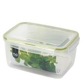 《樂扣樂扣》P&Q長型保鮮盒2.4L綠蓋(P-00036)