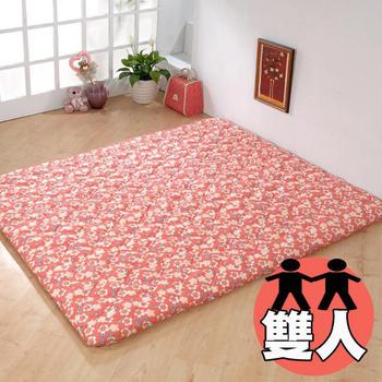 《思美爾》景良日式雙人床墊(小紅花)