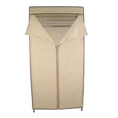 《FP》鐵力士吊衣架組- 米白(45*90*180cm附防塵套)