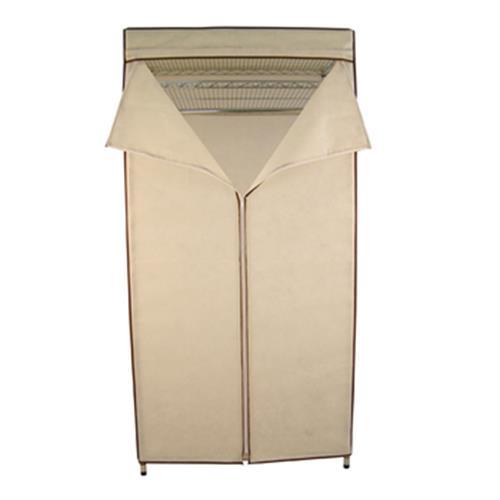 FP 鐵力士吊衣架組- 米白(45*90*180cm附防塵套)