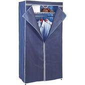 《FP》鐵力士吊衣架組- 藍(45*90*180cm 附防塵套)