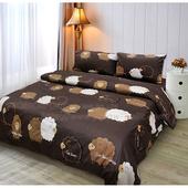《Victoria》純棉單人床包組-雲朵羊
