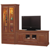 《時尚屋》建霖8.3尺樟木L型電視櫃