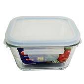 RT強化玻璃方形保鮮盒(1000毫升)