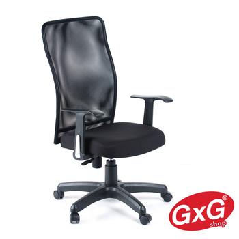 《GXG》短背半網 電腦椅TW-010 E(黑色)