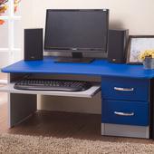 《樂活玩家》新和室電腦桌-附抽屜(天空藍)