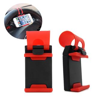 汽車方向盤手機支架